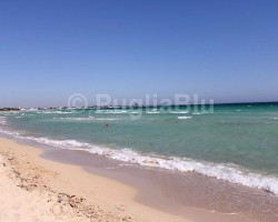 Torre Chianca in Salento is a beautiful sandy beach.