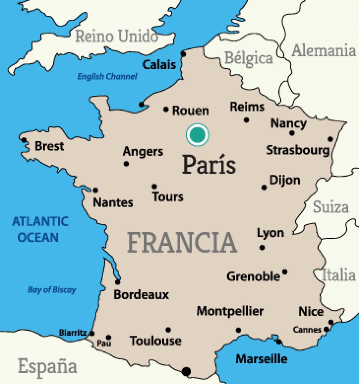 Cartina Parigi Con Quartieri.Cosa Vedere A Parigi