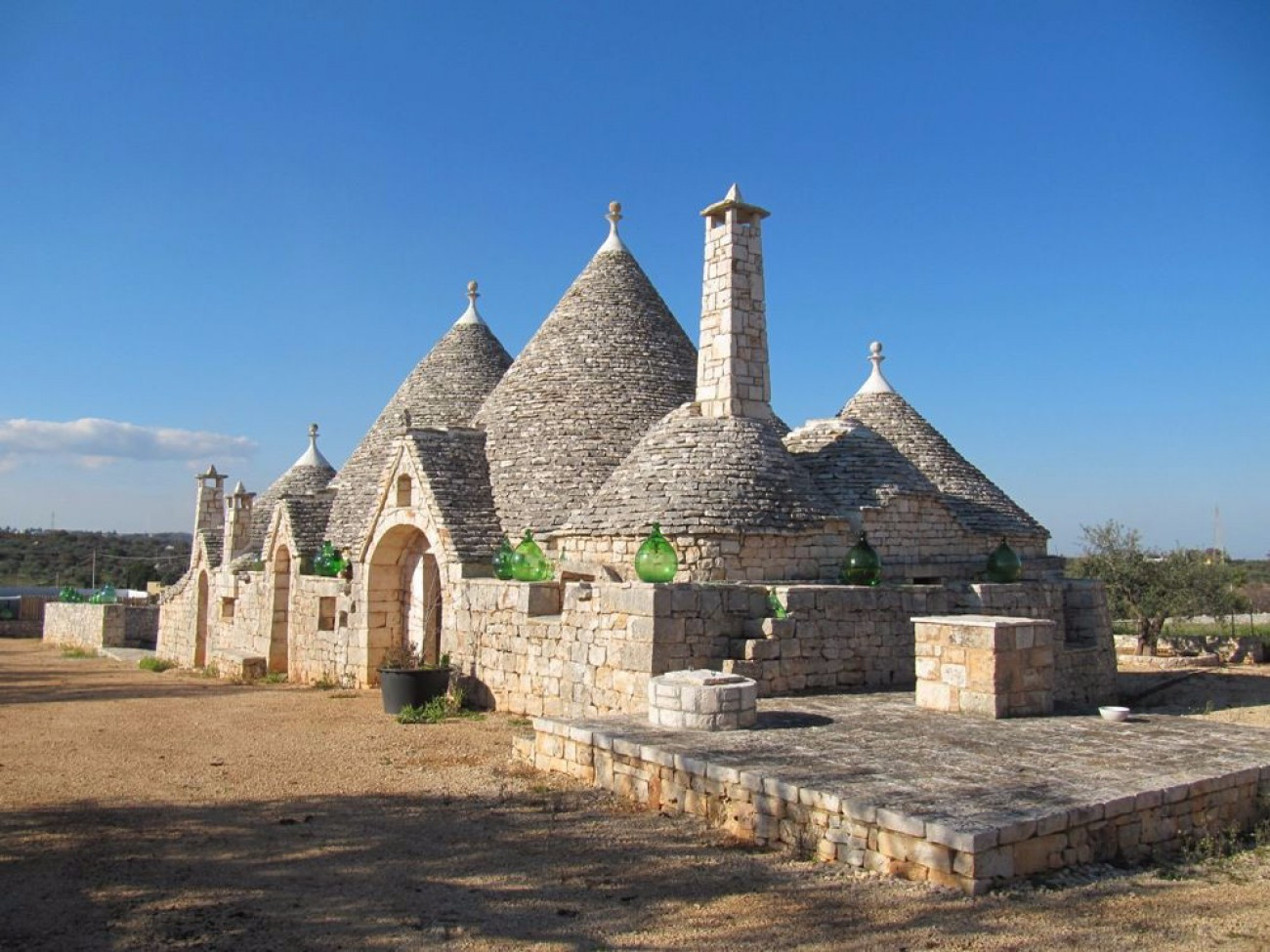 Trulli for sale in Castellana Grotte